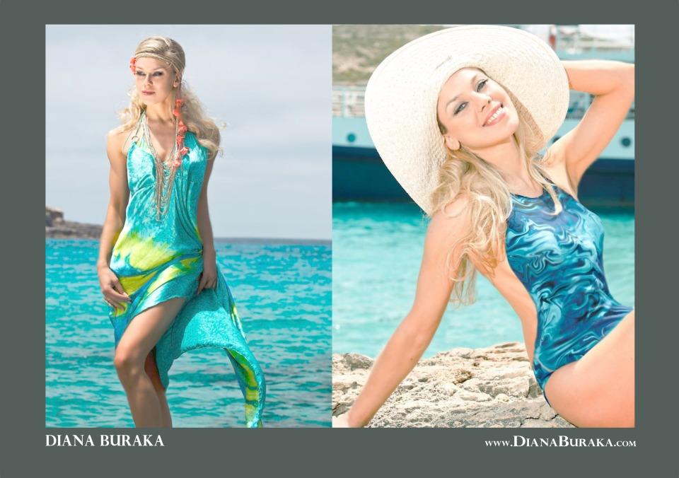 Swimwear photo shoot. Malta Fashion Week.