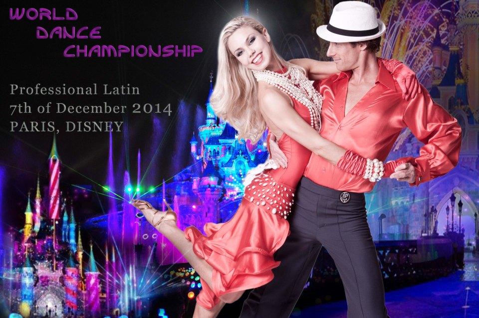 World 2014 Paris Disney - Diana Buraka and Florent Trarieux