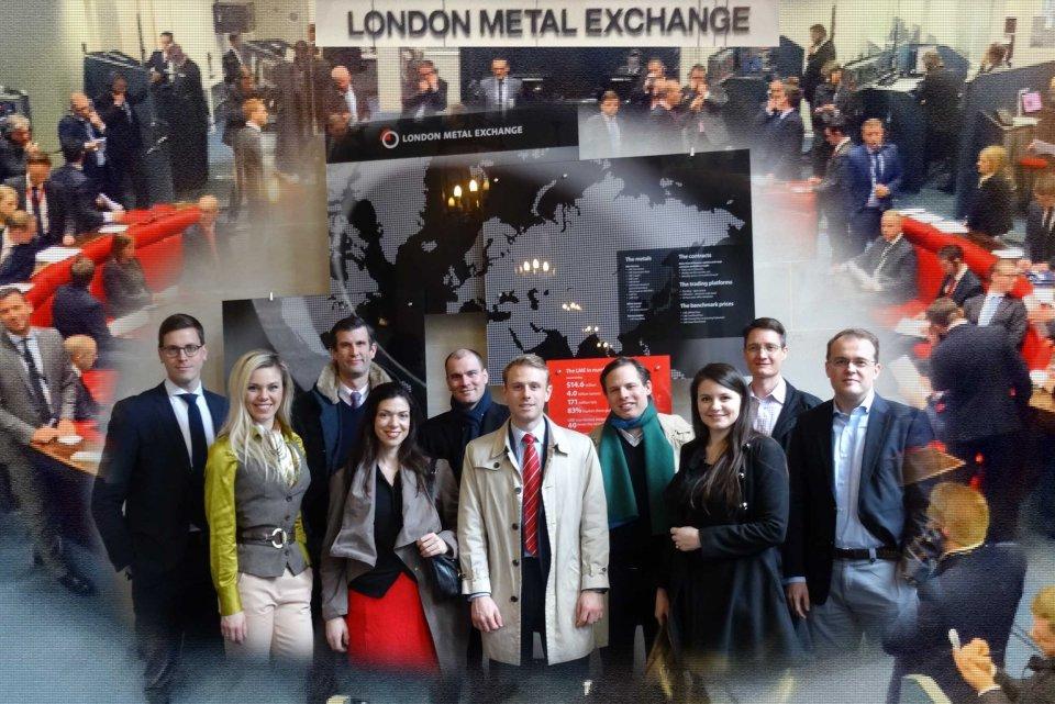 Diana Buraka – London HSG Alumni Board Member – LME Visit