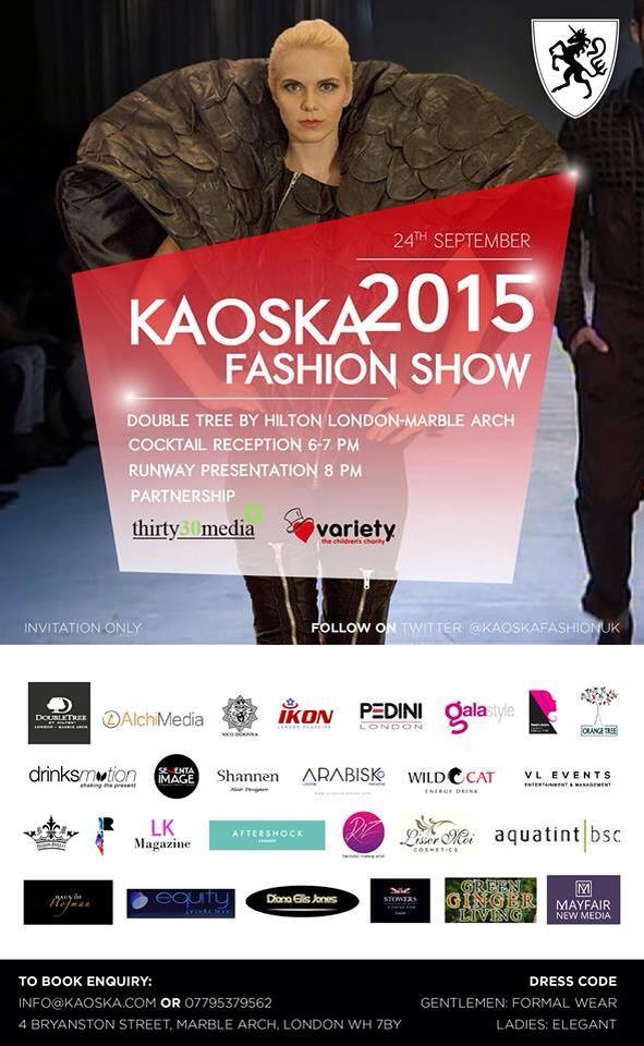 Diana Buraka - Kaoska poster- 11Sept2015