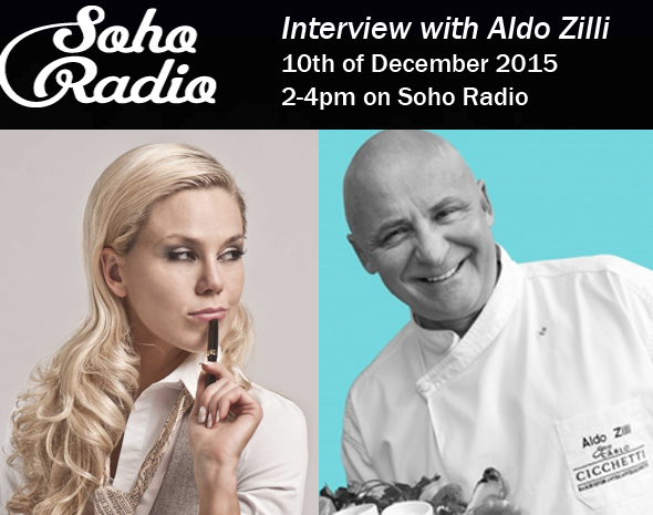 Diana Buraka_interview on Soho Radio with Aldo Zilli
