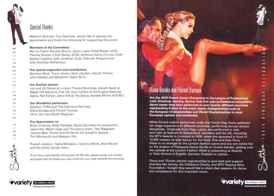 Savoy_Diana Buraka_Sinatra Dance Show