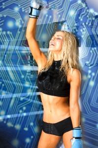 Digital Work Out for AI Featured: Diana Buraka Photographer: Simon Richardson